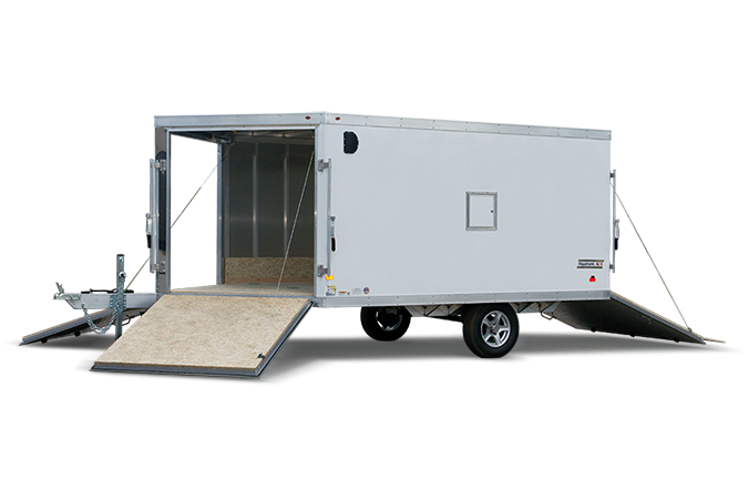 2018 Haulmark HAS85X22DT2 Snowmobile Trailer