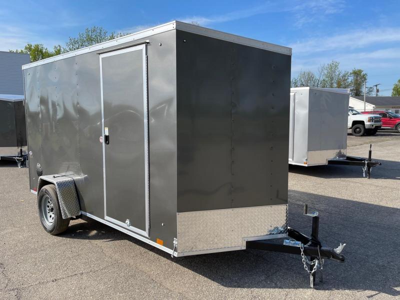 6x12 LOOK DLX -Extra Height - w/ Ramp Door
