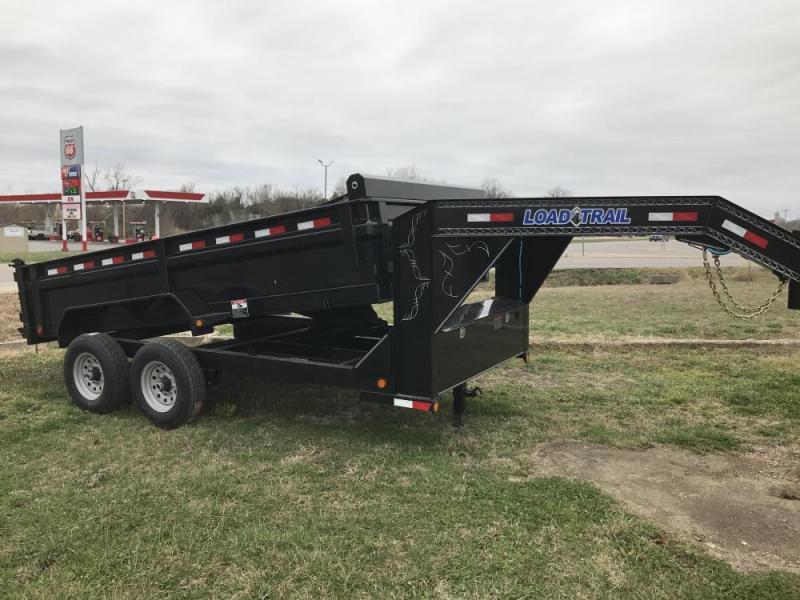 "2020 Load Trail 83"" x 14' Gooseneck Dump Trailer 14K"