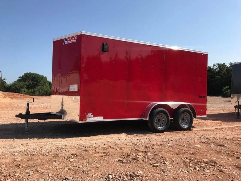 2022 Pace American 7x14 Tandem Axle Enclosed Cargo Trailer-- NEW!!