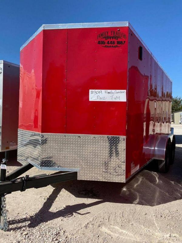 2022 Pace American 7X14 Tandem Axle Enclosed Cargo Trailer