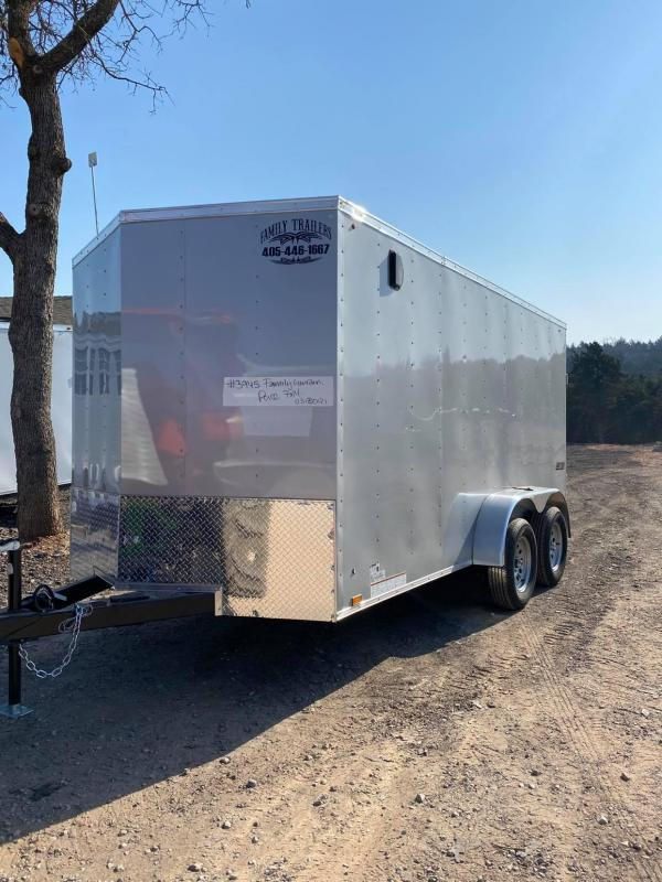 2022 Pace American 7x14 Tandem Axle Enclosed Cargo Trailer-- 6ft 6in in Height