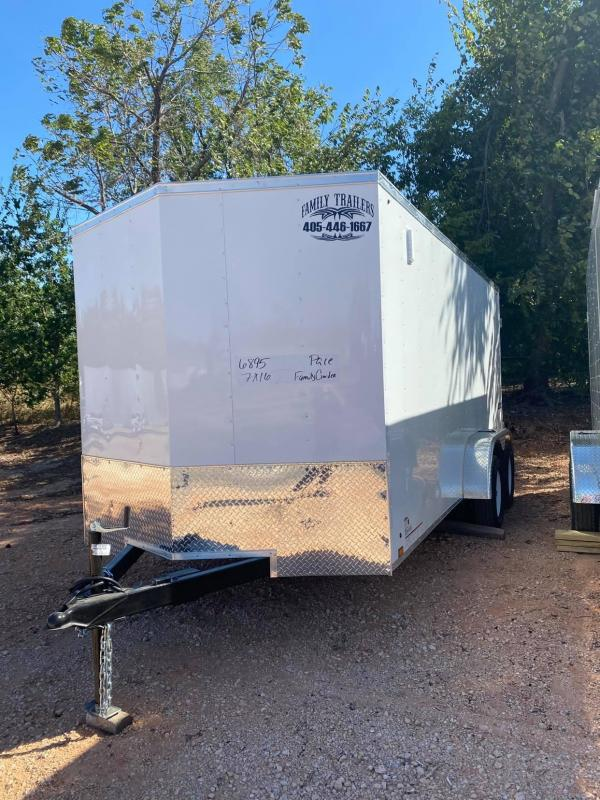 2022 Pace American 7x16 Enclosed Cargo Trailer