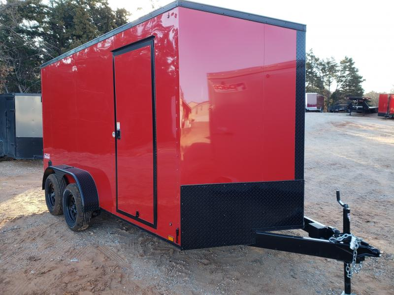 2021 Pace American 7x14 Tandem Axle Enclosed Cargo Trailer -