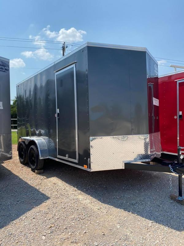 2022 Pace American 7x14 Tandem Axle Enclosed Cargo Trailer  NEW--