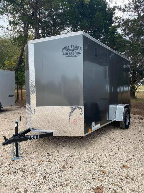 2022 Pace American 6x12 Enclosed Cargo Trailer- SCREWLESS- new!