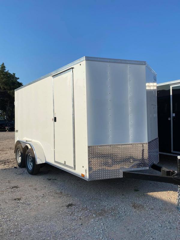 2022 Pace American 7x14 Tandem Enclosed Cargo Trailer