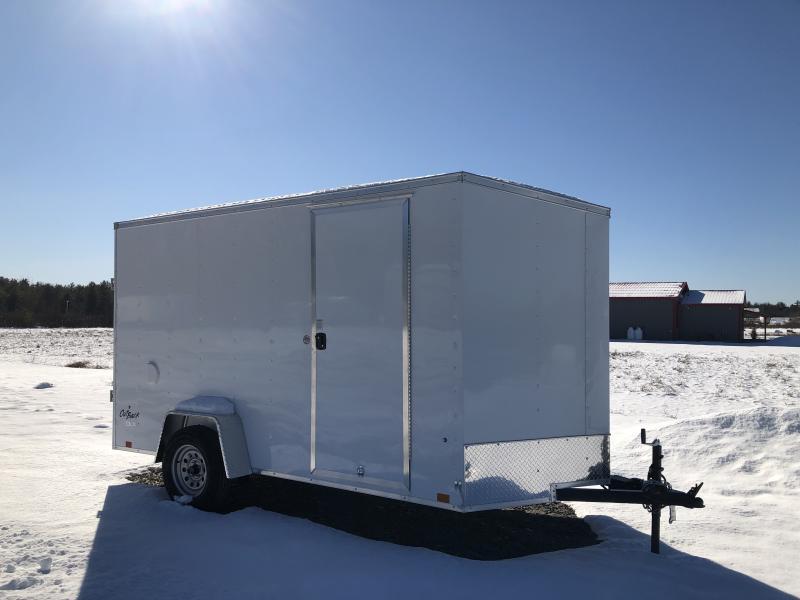 2022 Pace American OB6X12SE2DLX 6X12 Enclosed Cargo Trailer