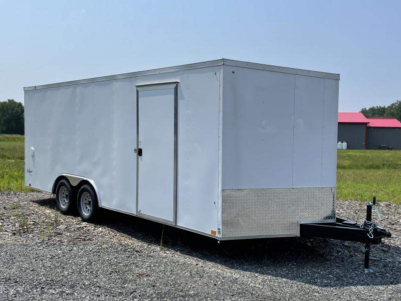 2022 Pace American 8.5 X 20 OUTBACK AUTO DLX Car / Racing Trailer