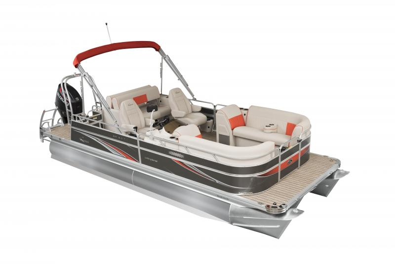 2020 Qwest LS 822 Splash Pad RW Pontoon Boat