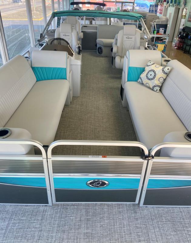 2021 Qwest LS 824 Lanai DS Bar (TT) Pontoon Boat