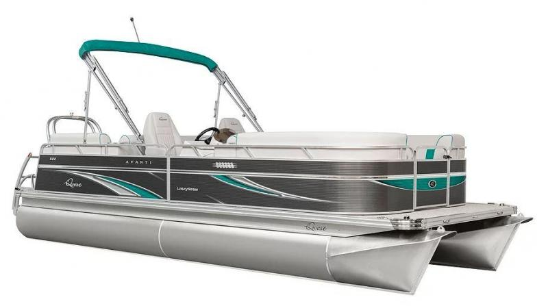 2021 Qwest LS 824 Lanai DS Bar (TT) Pontoon Boat