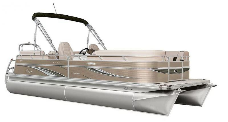 2021 Qwest Edge 7514 Cruise Pontoon Boat