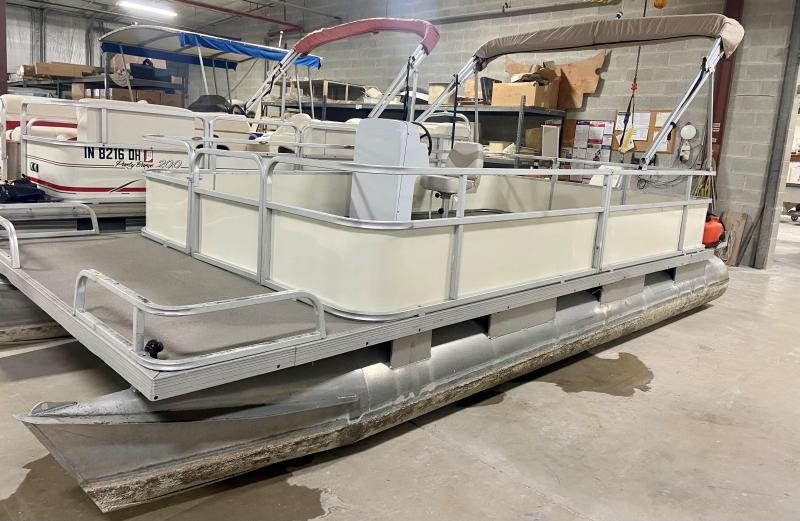 USED - 1979 Riviera Cruiser FunDeck Pontoon Boat