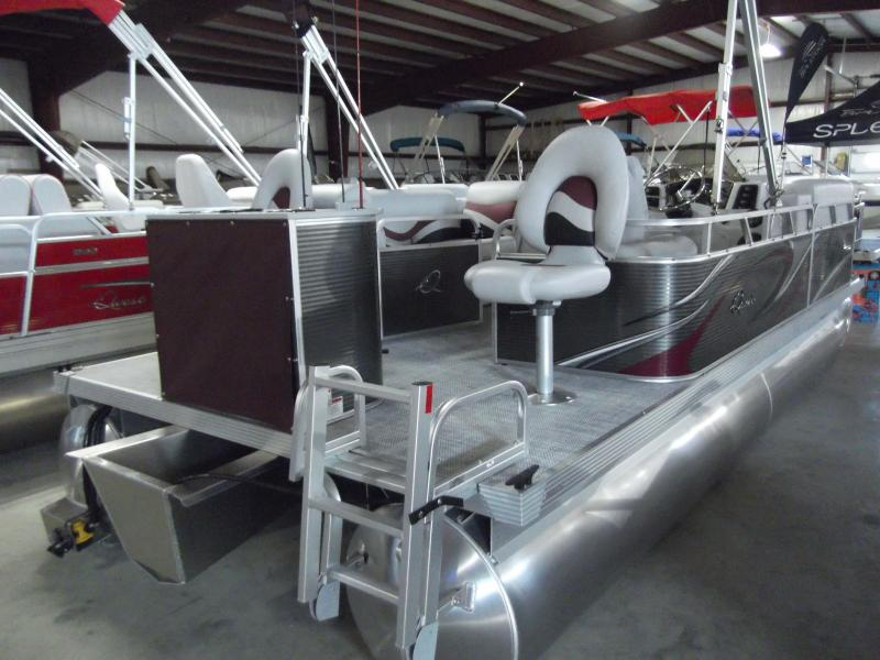 2020 Qwest Edge 818 CTR Fishtail Pontoon Boat