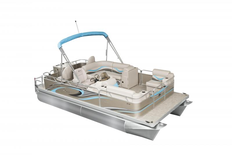 Qwest Edge 818 VX Cruise Pontoon Boat