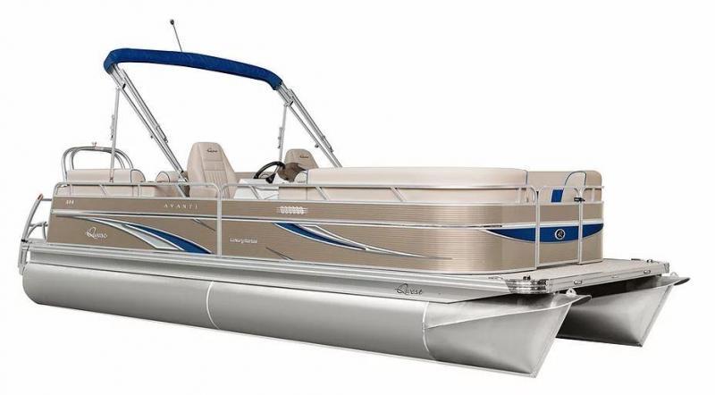 2021 Qwest LS 816 CTR Pontoon Boat