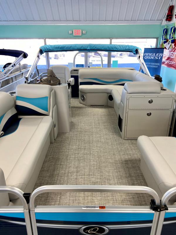 2021 Qwest Edge 818 Lanai Pontoon Boat