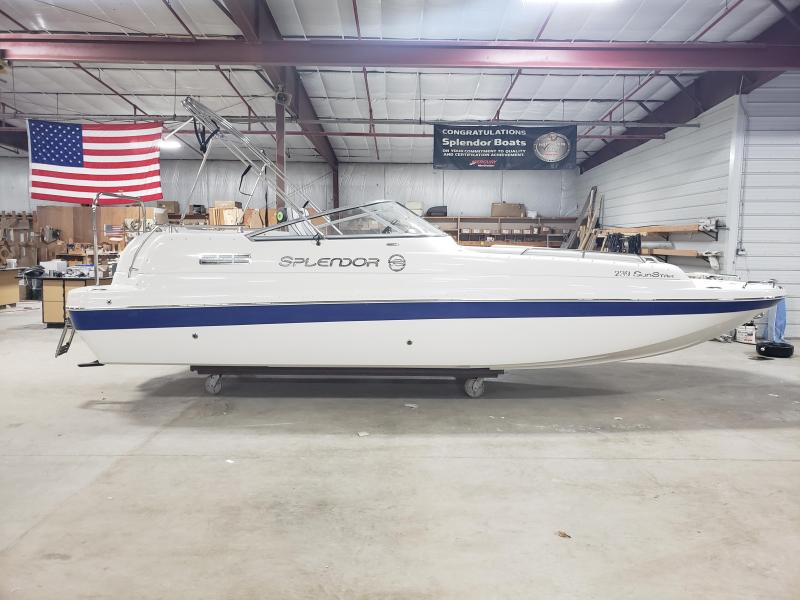 2020 Splendor 239 SunStar - Patriot Blue