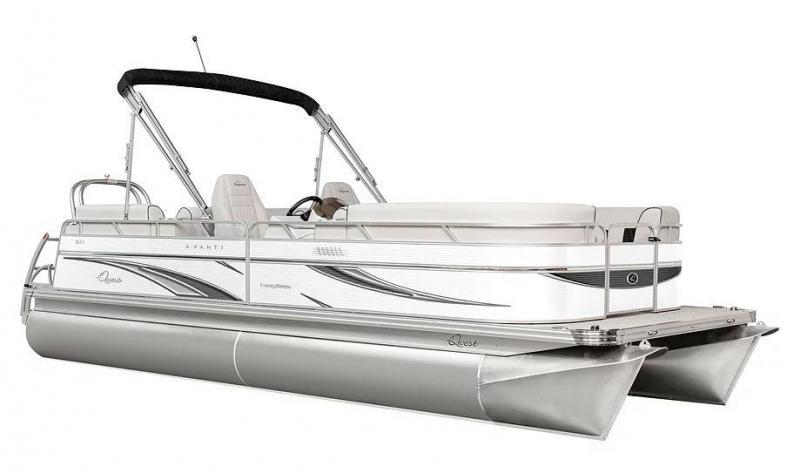 2021 Qwest LS 816 CTR FC Pontoon Boat