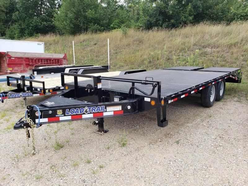 """New Load Trail 102"""" x 20' Deckover Trailer with Torsion Axles"""