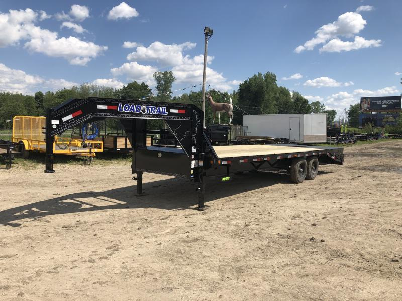 Load Trail 25' Deckover 14K Gooseneck Equipment Trailer