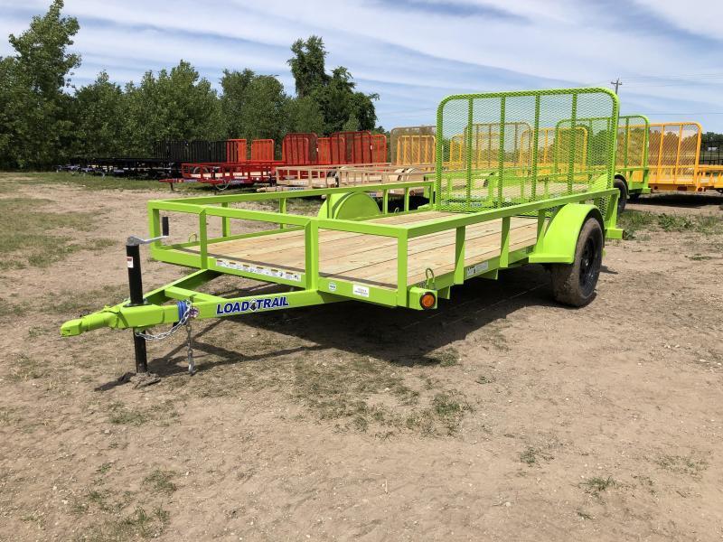 Load Trail SE Saftey Green 77x12 Utility Trailer