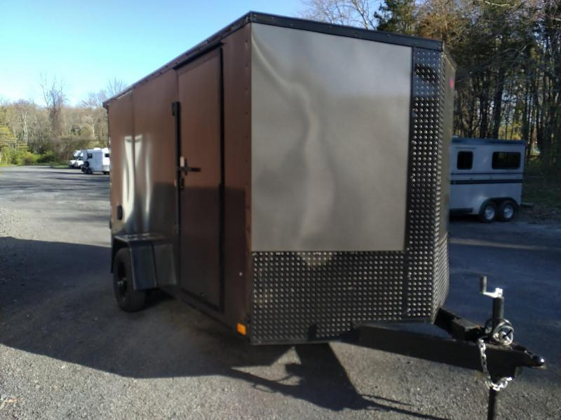 Pace American Journey SE Cargo / Enclosed/ Motorcycle Trailer 7 x 12