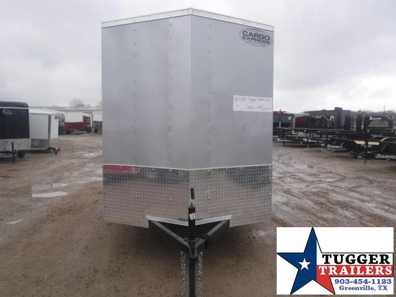 2021 Cargo Express 6x10 10ft Utility Sport Move Camp Band Tool Work Enclosed Cargo Trailer