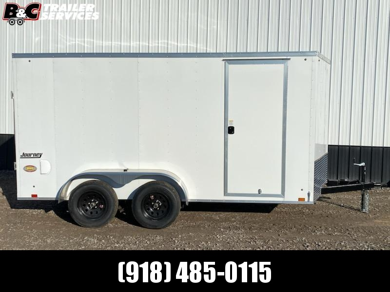 Pace American   PACE 7X12  V NOSE ENCLOSED CARGO TRAILER Enclosed Cargo Trailer