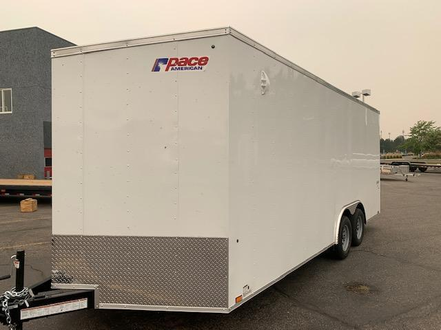 2022 Pace American Outback Auto DLX 7K Enclosed Cargo Trailer