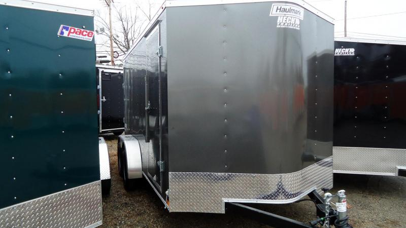 2020 Haulmark 7X14 PP T2-D RAMP CHARCOAL 1-14-20 Enclosed Cargo Trailer