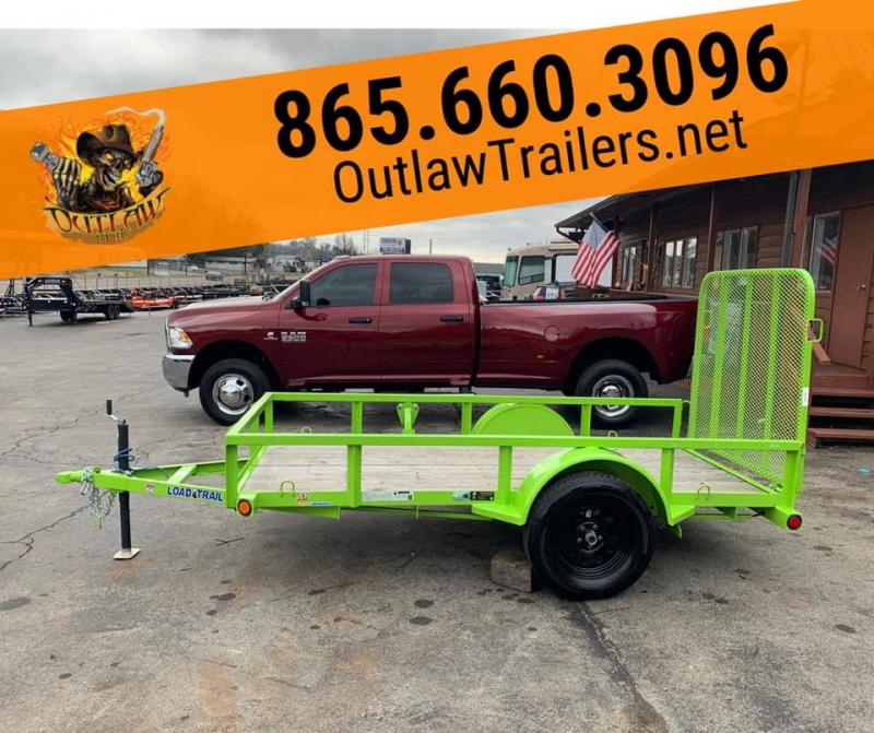 New 2020 Load Trail Xtreme Green 5 X 10 7K Utility Trailer