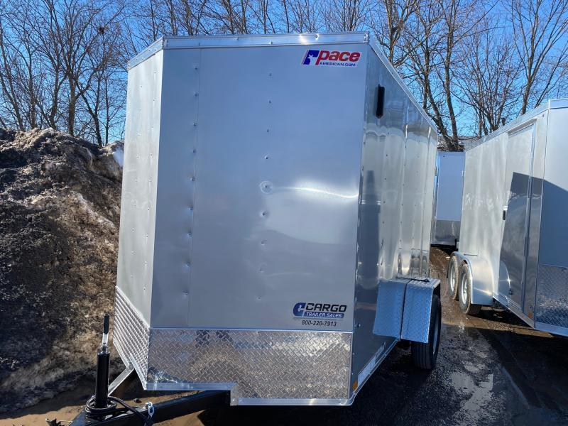 2021 Pace American OB6X10S12DLX Other Trailer