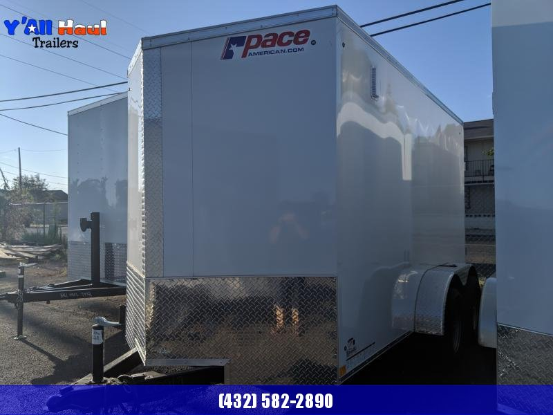 2021 Pace American 6x12 Journey Enclosed Cargo Trailer Single Axle