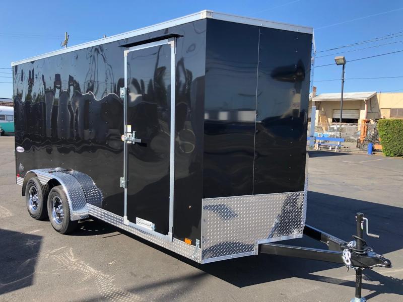 2022 Look Trailers 7' X 16' Element Cargo Enclosed Cargo Trailer