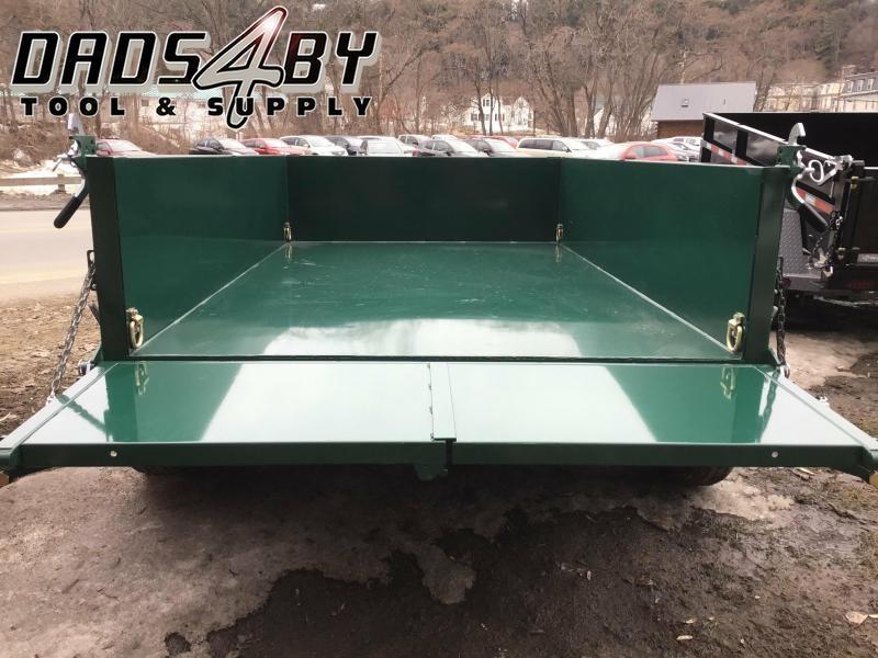 DLP10-10 BWISE 6'X10' 10K Black/Green Dump W/Combo Gate & Ramps