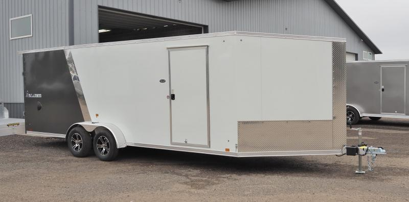 2022 Look Trailers AVALANCHE 7X22+5' V TA2 DRIVE IN/OUT Snowmobile Trailer