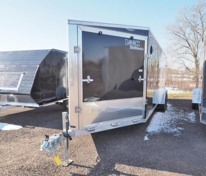 2021 Look Trailers AVALANCHE 7X22'+5' V TA2 DRIVE IN/OUT Snowmobile Trailer