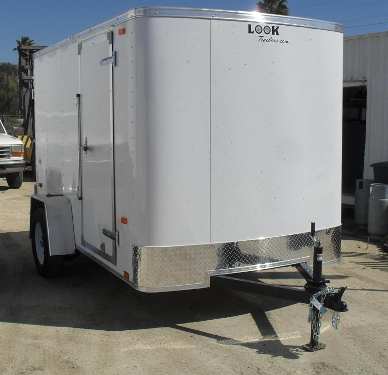 2017 Look Trailers STLC 6X10 S12 Enclosed Cargo Trailer