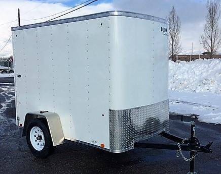 NEW Look Trailers ST 5 X 8 Enclosed Cargo Trailer