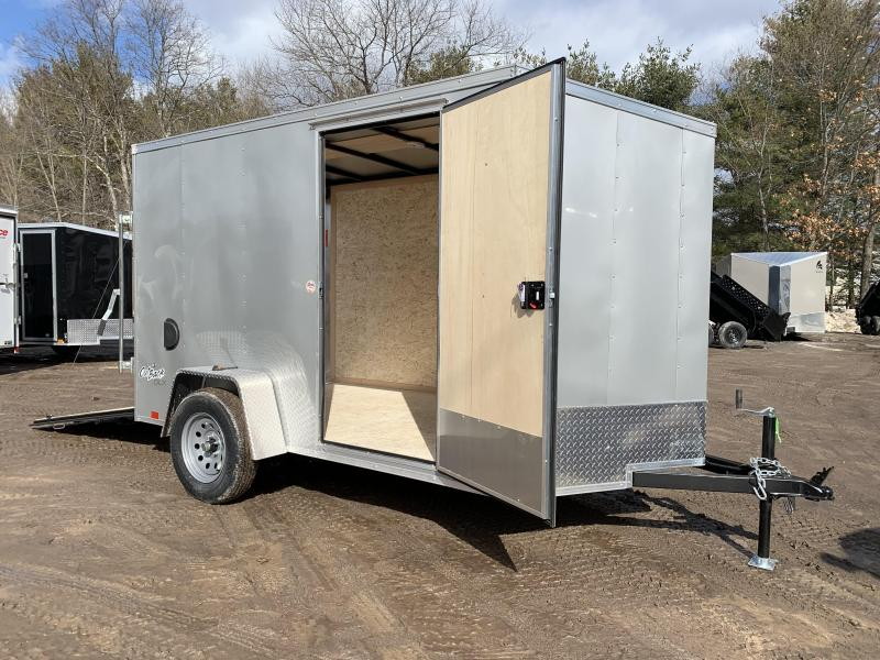 2021 Pace American 6x10 Outback DLX+2' v-nose/undercoated/6