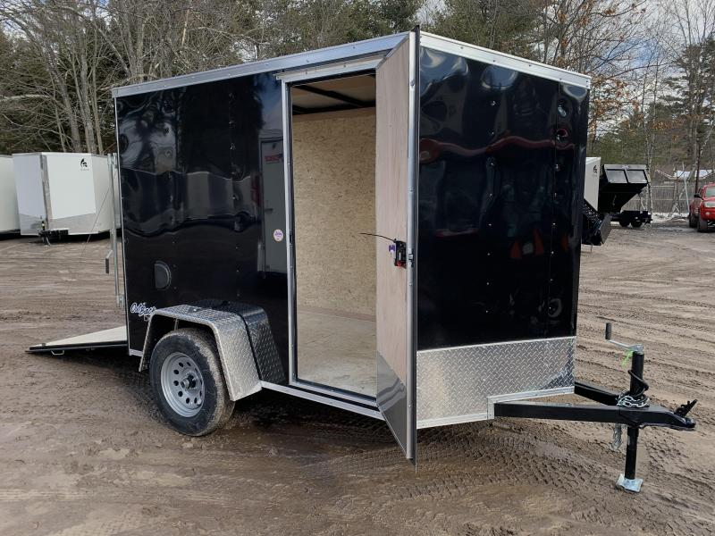 2021 Pace American 5x8 +2' v-nose/undercoat/6' interior/2990gvwr