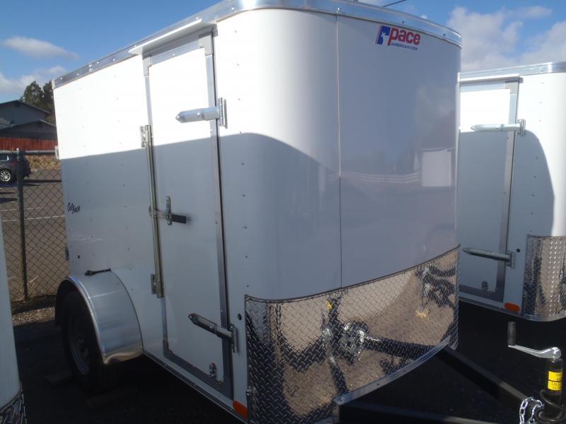 5x8 ST Enclosed Trailer Ramp Door