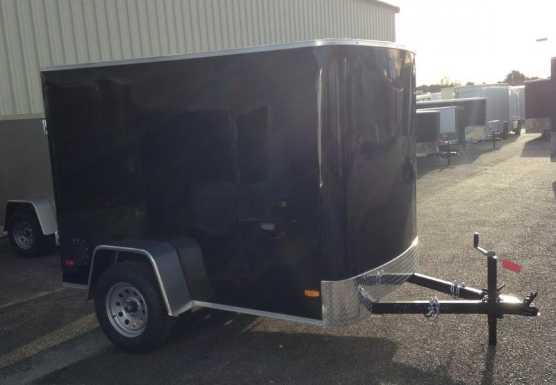 2020 Covered Wagon Trailers 5x8 Single Axle Enclosed Cargo Trailer