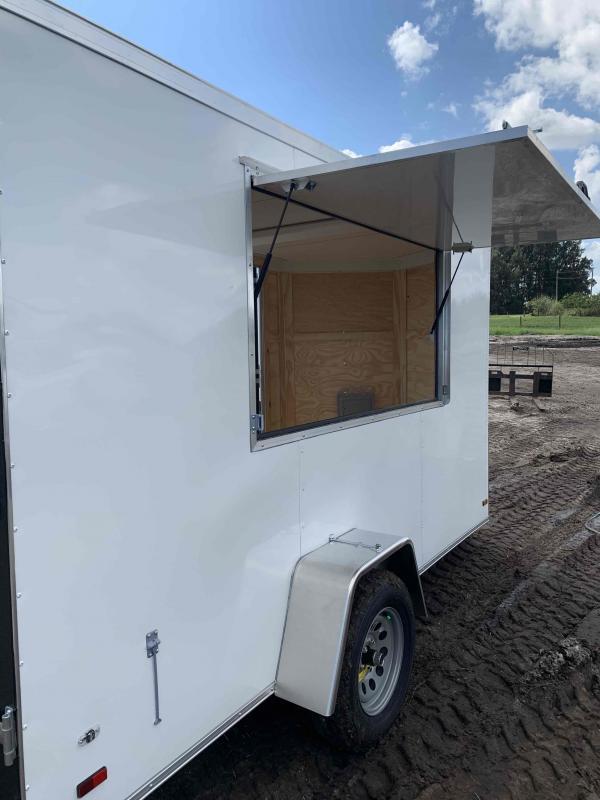 2021 Covered Wagon Trailers concession trailer 6x12SA Vending / Concession Trailer