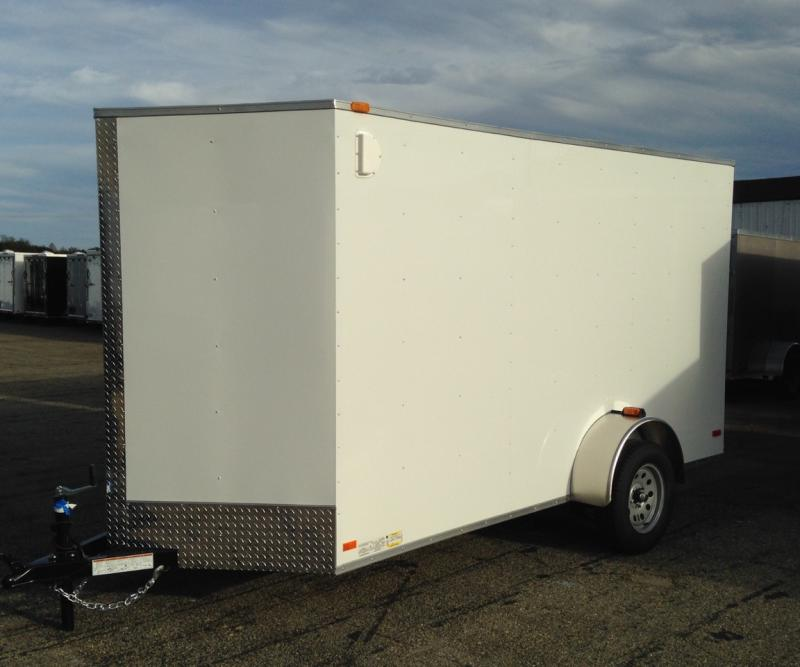 2021 Covered Wagon Trailers 6x12 Single Axle Enclosed Cargo Trailer