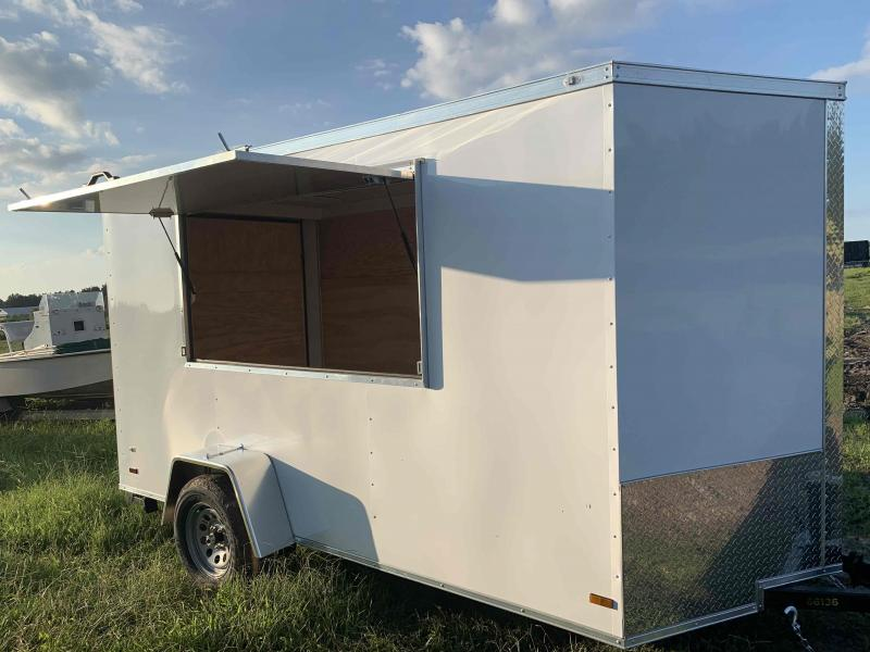 2021 Covered Wagon Trailers concession trailer 6x12SA Vending / Concession Trailer