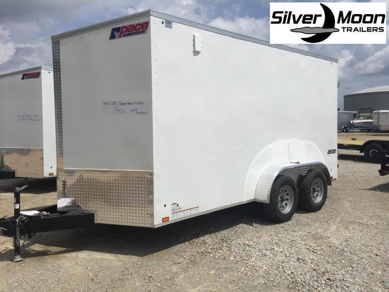 2022 Pace American 7x14 V-Nosed Enclosed Cargo