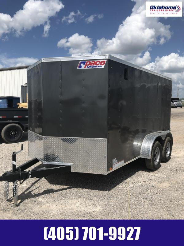 2022 Pace American 7' x 12' TA Enclosed Cargo Trailer